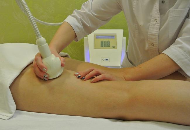 Процедура на аппарате Skintonik для тела